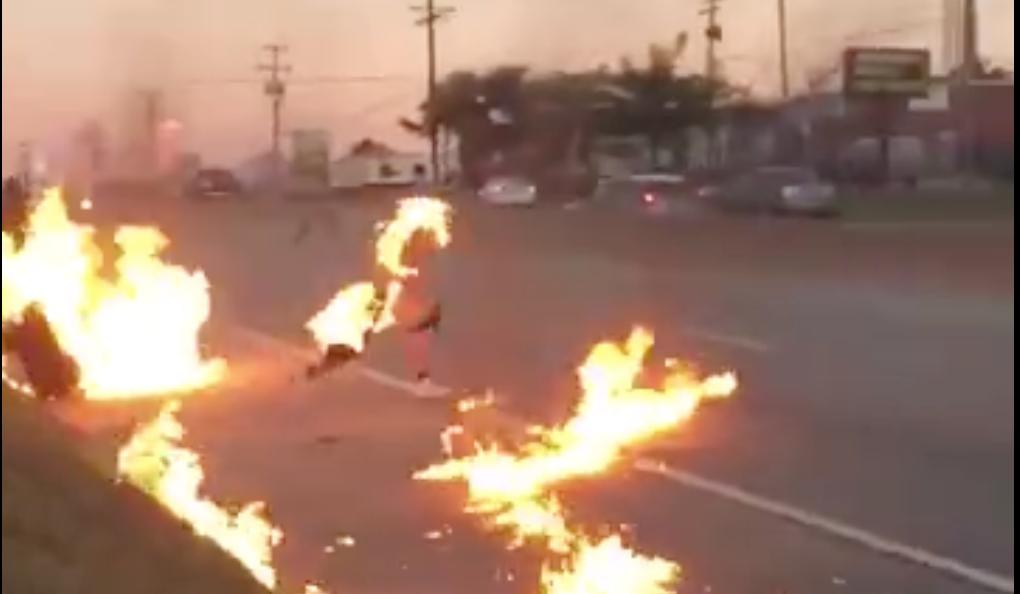 Gasoline Fight