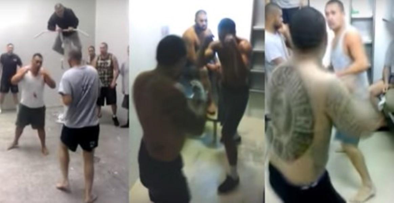 New Zealand Jail Fight