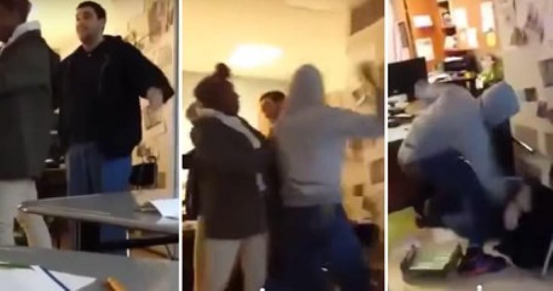 Teacher Student Fight