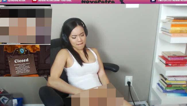 gamer caught masturbating 2