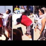 Bully Gets Body Slammed