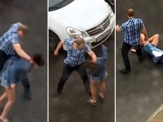 Domestic Violence Caught On Video