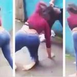 Girl Beats Up Boy