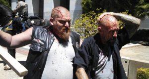 Neo Nazi Protest