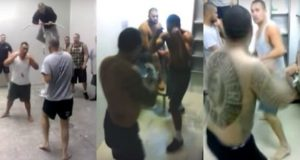 New Zealand Jail Fight
