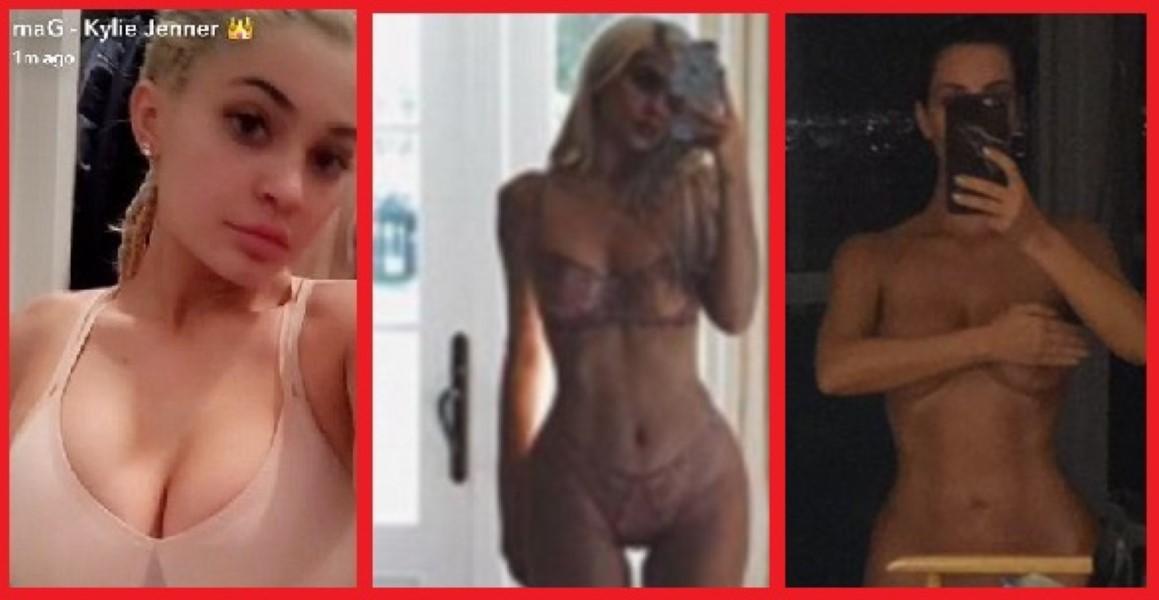 kardashian-jenner-selfies
