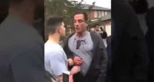 Dad Beat Up By Kids