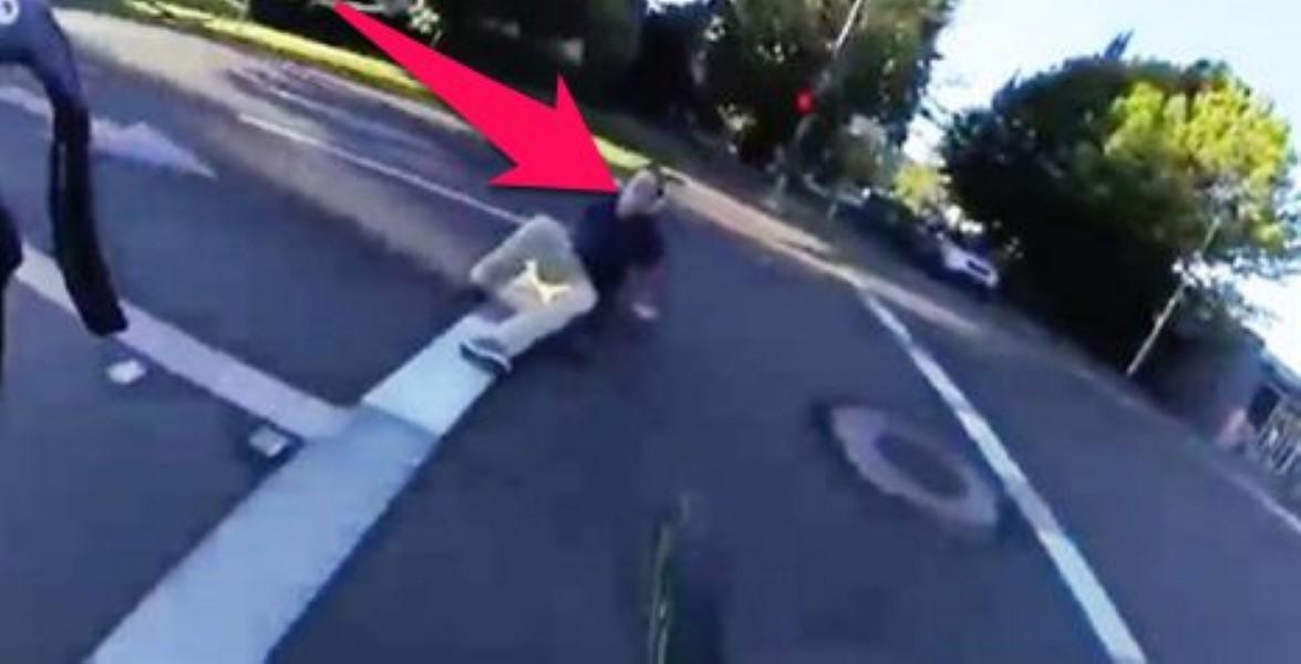 Cyclist Road Rage
