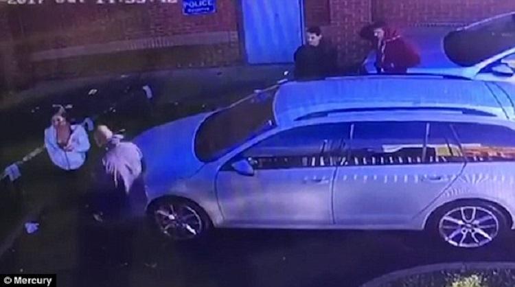 sex on car caught on CCTV 2