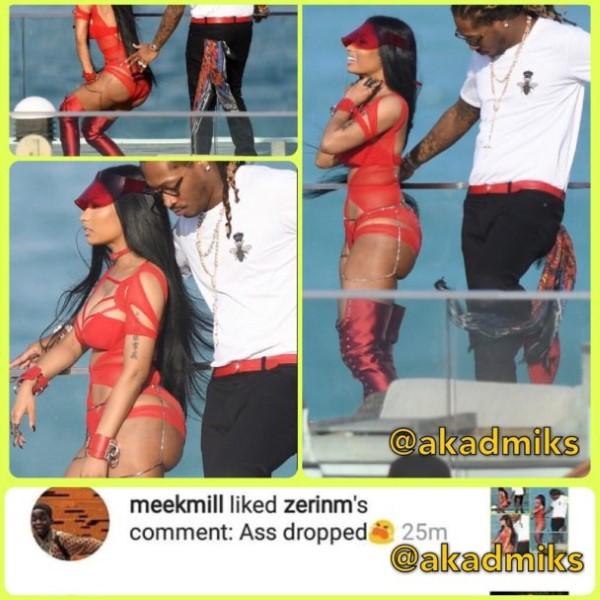 Nicki Minaj Butt Deflated